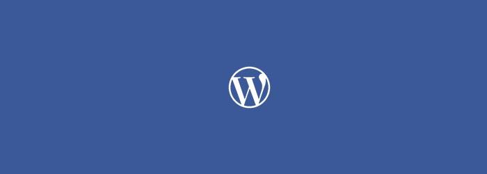 WordPress程序加速